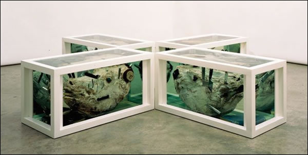 ARTLOVERS - Damien Hirst, Matthew, Mark, Luke and John 1994-2003 © Damien Hirst