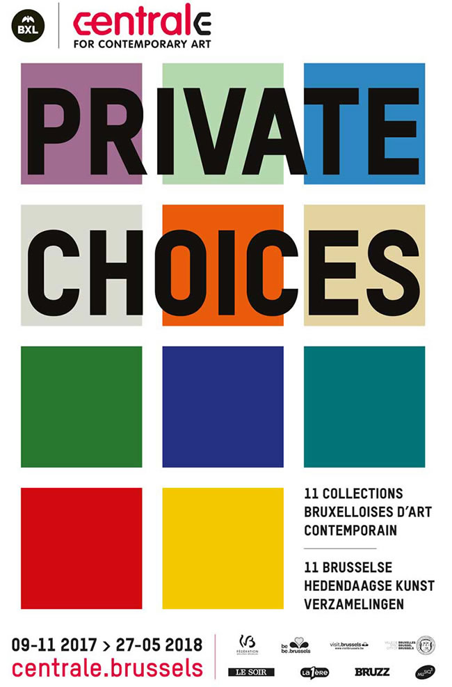 Exposition Private Choices - Affiche